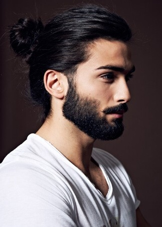 Długie włosy galeria męskich fryzur • Facetem jestem i o
