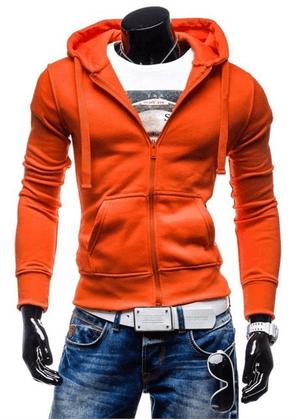 pomaranczowe bluzy