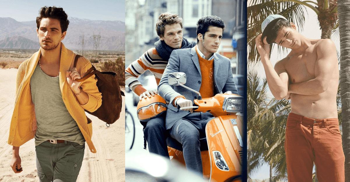 jak nosic pomaranczowe ubrania