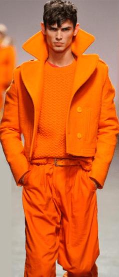 pomaranczowa stylizacja