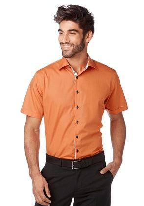 pomaranczowe koszule meskie