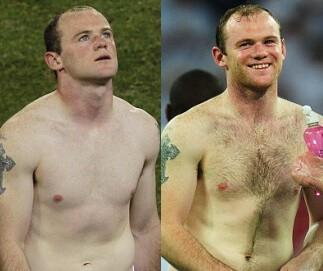Golić klatkę czy nie golić? Rooney