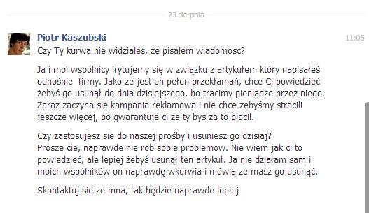 Piotr Kaszubski – wiadomości