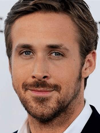 Zarost dla twarzy trójkątnej (Ryan Gosling)