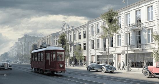 Warszawa 1935 kadr z filmu