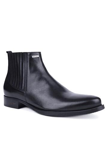 Buty męskie ze skóry licowej 02