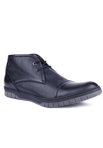 Buty męskie ze skóry licowej 03