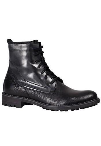 Buty męskie ze skóry licowej 05