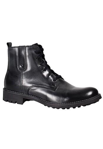 Buty męskie ze skóry licowej 06