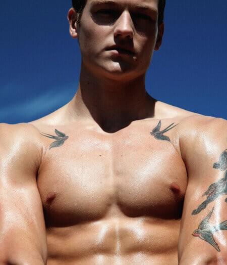 Męski Tatuaż Galeria Vol2 Facetem Jestem I O Siebie Dbam