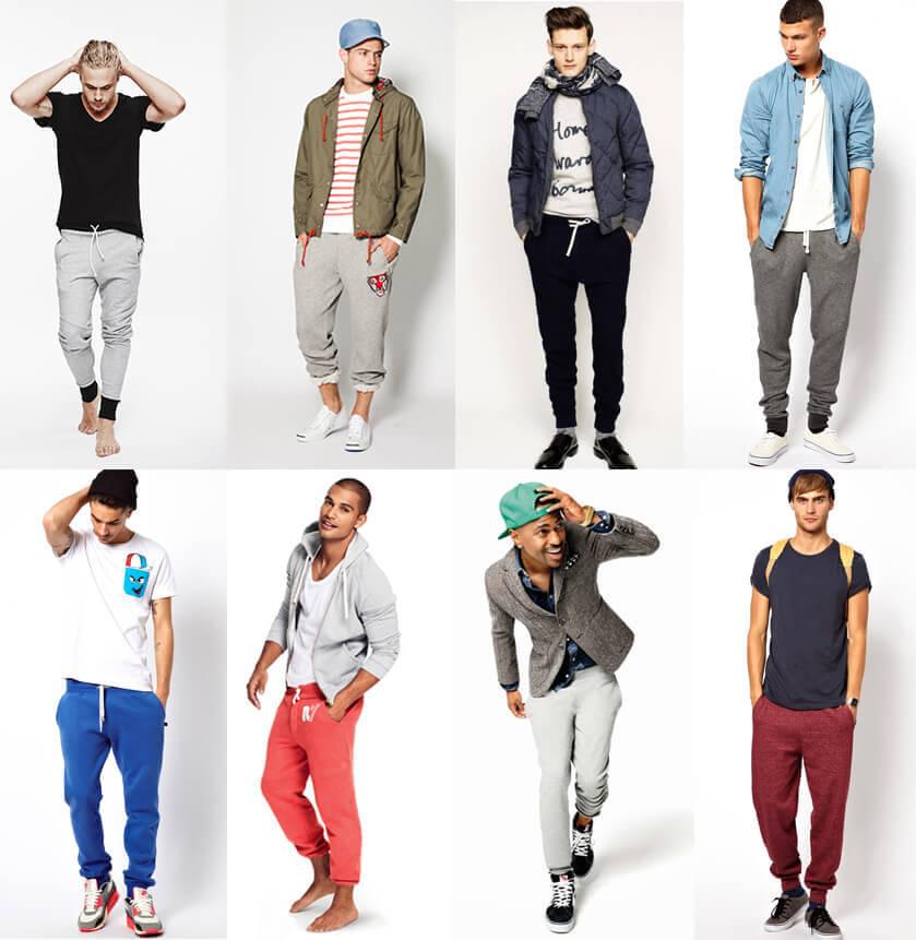 Miejski dres męski - stylizacje