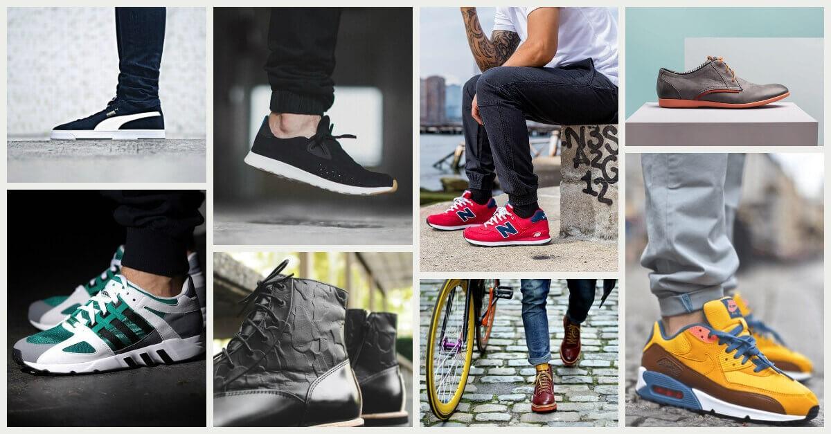 Modne buty męskie wiosna 2015