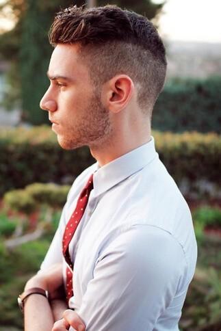 Męska fryzura 38