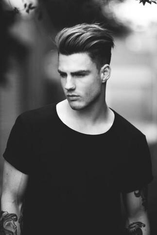 Męska fryzura 14
