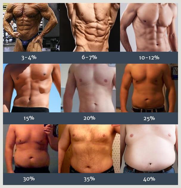 Ile procent tłuszczu u mężczyzny