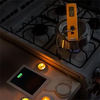 Ładowarka na parę wodną do iPhone i innych urządzeń
