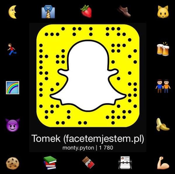 Tomasz Saweczko Snapchat