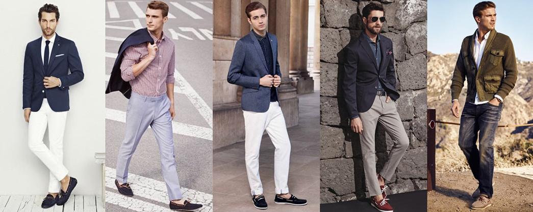 Eleganckie stylizacje męskie na lato
