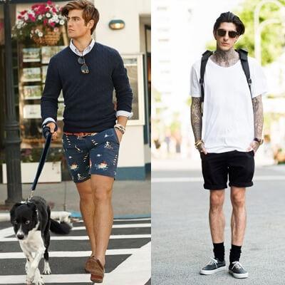 Negatywne przykłady męskich stylówek na lato