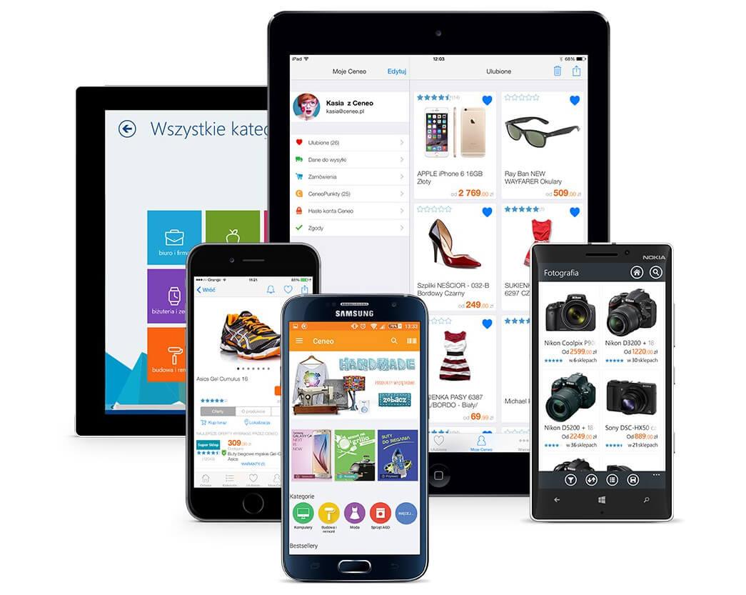 Aplikacja mobilna Ceneo