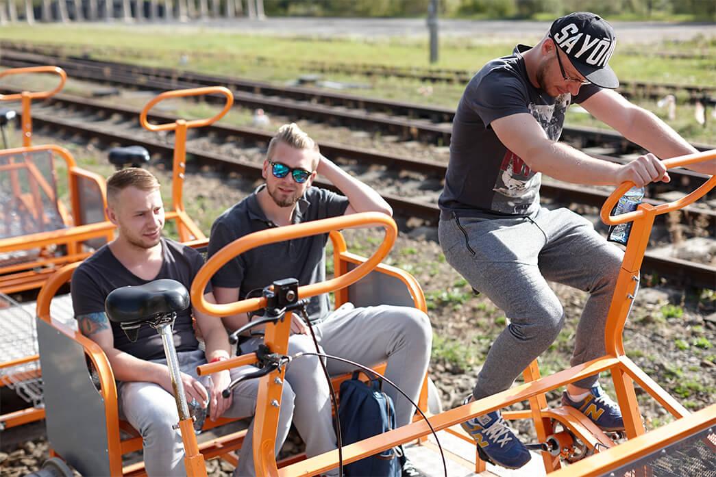 Drezyny rowerowe w Bieszczadach