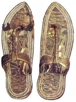 Sandały (japonki) w Starożytnym Egipcie