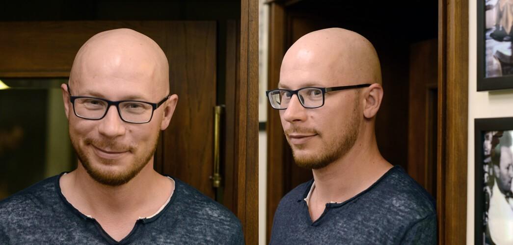 Tomasz Saweczko - po wizycie w barbershopie Hermit (bez poprawek brzytwą)