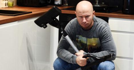 Tomasz Saweczko odkurzacz