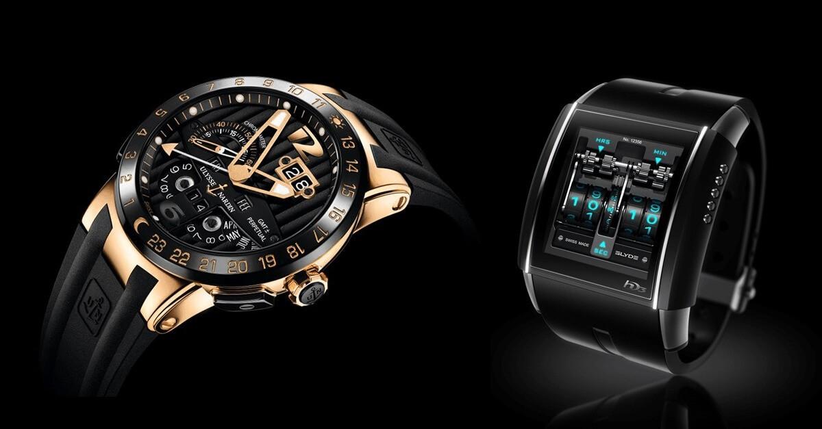 Luksusowe męskie zegarki