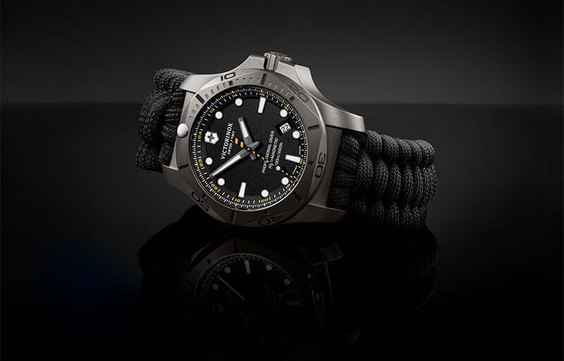 I.N.O.X. Professional Diver Titanium czarny