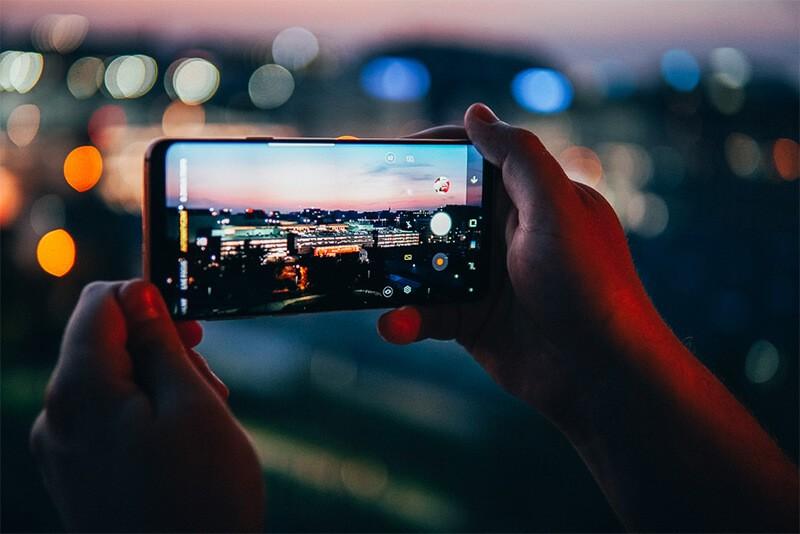 Samsung S9+ wyświetlacz