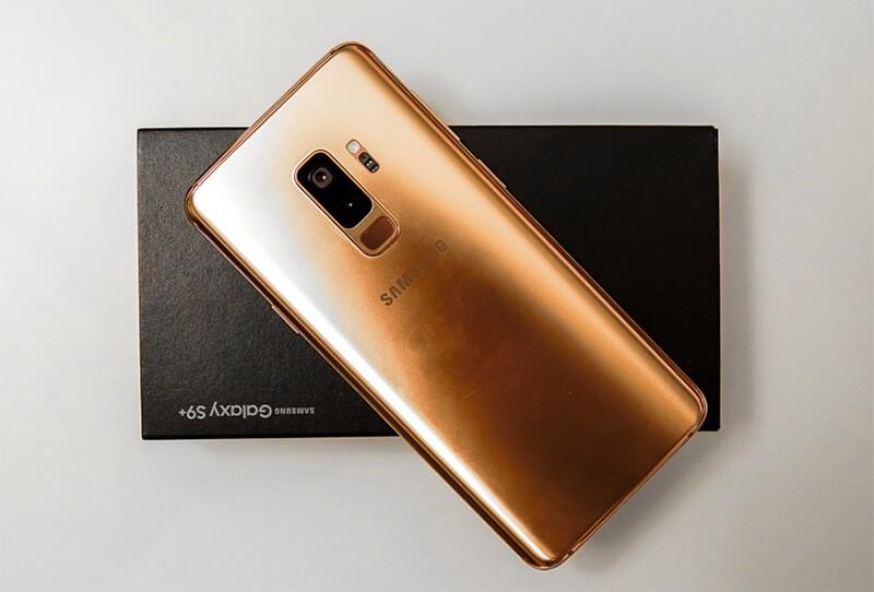 Samsung S9+ z góry